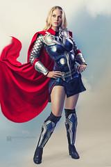 Thor Cosplay Genevieve Marie (Manny Llanura) Tags: thor cosplay marvel comics cosplayer genevieve marie manny llanura photography