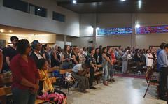 Messe_de_Rentree_Etudiants_2018_8 (eglisecatholiqueherault) Tags: montpellier saintebernadette messe rentrée étudiants diocèse bancs