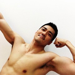 Handsome Asian Man (Zephyrider) Tags: handsome asian man beautiful gorgeous muscular chinese stud hunk eyecandy mancandy guys