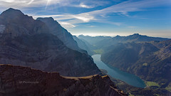 Vorder Glärnisch (Silvan Bachmann) Tags: beautifulearth switzerland swiss suisse mountains swissalps alps lake klöntal glarus hiking summer fall nature landscape sky drone dji phantom ngc breathtakinglandscape scenery atmosphere stunning view great impressive