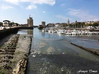 La Rochelle à marée basse