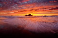 Indian Summer (conflexstudios) Tags: seascape sunset sanfrancisco sutrobaths cliffhouse california clouds leefilter landscape longexposure