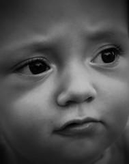 Detail (Jan Hovjacký) Tags: detail face babyboy baby blackandwhite portrait cute toddler canon child