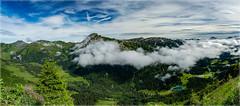 Hoher Ifen im Nebel_1160185 (uwe_cani) Tags: nebel panasonic fz1000 kleinwalsertal österreich allgäu berge blauerhimmel wolken landschaft outdoor natur