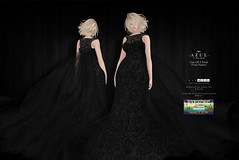 (IMAGE) -AZUL- OOAK (Your Name) [SOS] (mami_jewell) Tags: azul charity donation sos doctorswithoutborders dress gown sl secondlife virtual game avatar fashion auction spoonfulofsugarfestival