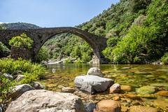 Pianella (dbrothier) Tags: ota corse france fr canonef1740mmf4lusm flickrcorsicaflickrcorse canon canon6d eos6d kalliste corsica pianella bridge pont lr riviere river porto spelunca tavulella lonca
