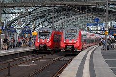 DB Baureihe 442 Berlin Hauptbahnhof (daveymills37886) Tags: baureihe 442 berlin hauptbahnhof emu db regio