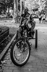 Super Fly ©2018 Steven Karp (kartofish) Tags: streetphotography street rittenhousesquare philadelphia pennsylvania monochrome trike