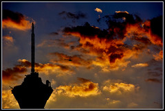 Tight (VegasBnR) Tags: nikon sigma stratosphere strat vegas lasvegas vegasbnr vegas1 city sunset clouds silhoet nevada nature sahara wires powerlines power powerpole telegragh