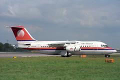 I-FLRE British Aerospace 146-200 Meridiana (pslg05896) Tags: iflre bae146 meridiana lgw egkk london gatwick