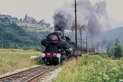 FS Gr 743.283 Nucetto 26/06/1977. Foto Roberto Trionfini (stefano.trionfini) Tags: train treni bahn zug steam dampf fs gr743 piemonte italia italy