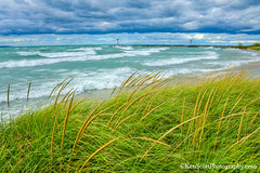 Lake Michigan ... beach blow! (Ken Scott) Tags: leelanau michigan usa 2017 september summer 45thparallel hdr kenscott kenscottphotography kenscottphotographycom freshwater greatlakes lakemichigan leland