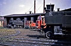 Linz MPD, Upper Austria (Yeovil Town) Tags: austria railway obb linz depot 931347 931433 206016 206726