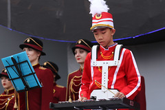 IMGL4118 (taticoma) Tags: brassband brass music musician child china red school teenage percussioninstrument percussion