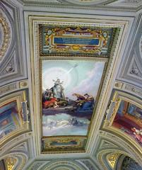 Painted Ceiling in Vatican Museum, Vatican City (Joseph Hollick) Tags: museum artmuseum art vatican vaticanmuseum ceiling painting