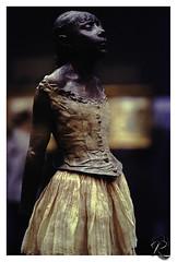 Degas, Petite Danseuse (orichier) Tags: france paris musée degas edgar museum sculpture color film orsay girl ballerina dance danseuse fille enfant child
