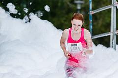 Going trough foam in Extreme Run (VisitLakeland) Tags: finland kuopio challenge este esteet event extremerun fun haaste juokseminen juoksu run sport suoksu tapahtuma