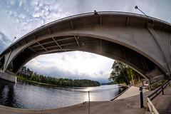 Leksand bridge (Håkan Dahlström) Tags: 2018 bridge dalarna leksand photography river sweden österdalälven dalarnaslän xt1 f10 1850sek 8mm uncropped 19722082018174455 strandvägen31 se