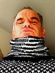 New photo old turtleneck 2 (jeremyv3) Tags: white black tanglescreations knit wool style mensfashion jumper sweater turtlenecks turtleneck