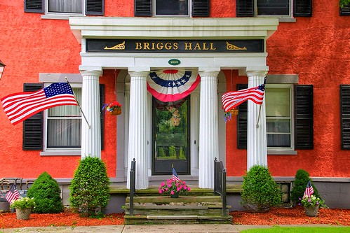 Homer New York -  Briggs-Hall Memorial Home - Historic House