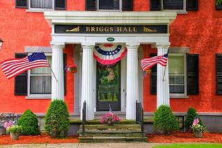 Homer New York -  Briggs-Hall Memorial Home - Historic House