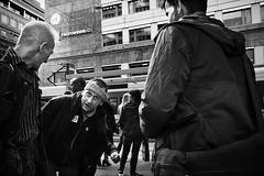 DSCF0166 (yann CM B) Tags: oslo zonefocusing streetphotography candid fixlens 28mm norway blackandwhite blackwhitepassionaward blackdiamond fuji fujix70