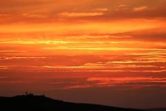 Royston Sunset (R.K.C. Photography) Tags: royston sunset therfieldheath england unitedkingdom hertfordshire clouds sky orange evening uk weather canoneos100d
