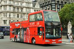London City Tour, Stanwell - LJ07 XET (peco59) Tags: lj07xet vle616 volvo b9tl b9 eastlancashire eastlancs darwen opentopbus londoncitytour originallondon bus psv pcv julia