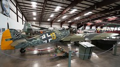 Messerschmitt Bf-109G-10/U4 in Valle (J.Comstedt) Tags: aircraft flight aviation air aeroplane museum airplane us usa airport planes fame valle grand canyon az messerschmitt 109 luftwaffe