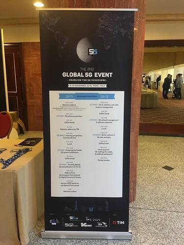 2ª – Roma, Itália, 5G PPP, 9 -10 de novembro de 2016- agenda