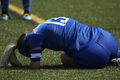 Women 26 (wilmuwildcats) Tags: soccer kicking sliding goal football futbol bear delaware unitedstates