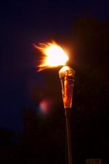 Long exposure Tiki Torch (RL1806) Tags: tiki torch flame fire longexposure