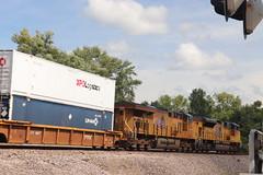 58917 (richiekennedy56) Tags: unionpacific sd70ace es44ac up8991 up2554 camden missouri raycountymo railphotos unitedstates usa