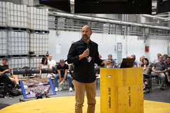 Gianpaolo Barozzi (IT) at the Get Inspired Presentations, POSTCITY (Ars Electronica) Tags: 2018 arselectronica arselectronica2018 arselectronicafestival austria error errortheartofimperfection getinspired gianpaolobarozzi linz upperaustria oberösterreich österreich at postcity cisco innovationsforumgetinspired