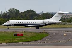 N838SC Global Express 9035 EBLG (CanAmJetz) Tags: n838sc global express force india f1 lawernce stroll bizjet aircraft