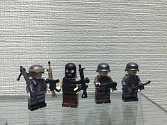 Some new (cool_studio2282) Tags: lego ww2 minifigs weapon germany brickmania brickarms