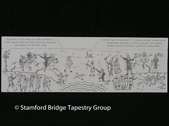 Panel 6 design (Stamford Bridge Tapestry Project) Tags: tapestry stamfordbridge battleofstamfordbridge 1066 design drawing