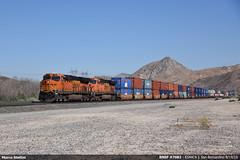 BNSF #7082 (Marco Stellini) Tags: bnsf railroad general electric es44c4 california cajon pass san bernardino