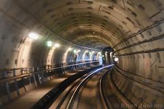 Copenhagen Metro (Bri_J) Tags: copenhagen denmark københavn danmark city nikon d7500 copenhagenmetro københavnsmetro underground tunnel railwaylines lights round