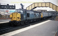 Newton on Ayr 37095 s170 (Ernies Railway Archive) Tags: newtononayrstation falklandyard gswr lms scotrail
