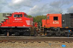 Something Old, Something New (mikeball1374) Tags: wnyp olean newyork alco ge locomotive train transportation trainphotography photography railfanning railroad trains ac44c6cf c630