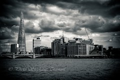 A view of the Shard (steff808) Tags: londres angleterre royaumeuni gb theshard england uk nikon nikond750 nikon24120 noiretblanc blackandwhite blancoynegro bw biancoenero london