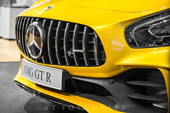 YELLOW R (ATFotografy) Tags: worldcar car sports exotoc luxury extreme performance elite collector collectable limited color grill head light tail highmount glass paint white red blue green indoor outdoor exterior side angle front view canon 600d eos dslr atfotografy saudi arabia saudiarabia riyadh middle east middleeast arab worldcars picoftheday interior vehicle excs 2017 excs11 defender wheel 2018 mercedesamg gt r coupe amg gtr yellow bee