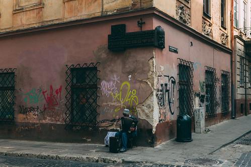 my corner in Lviv