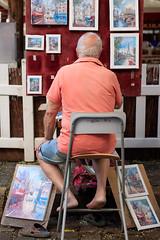 20180804-Canon EOS 750D-1480 (Bartek Rozanski) Tags: paris iledefrance france tertre montmartre hill artist painter painting artwork french parisian man