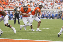 Oklahoma State Cowboys vs Boise State Broncos Football Game, Saturday, September 15, 2018, Boone Pickens Stadium, Stillwater, OK. Bruce Waterfield/OSU Athletics (OSUAthletics) Tags: 2018 big12 boisestate boisestatebroncos broncos cowboys football oklahomastateuniversity osu pokes