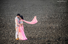 Mahesh Mounika (Karteek Sivagouni) Tags: mounika mahesh karteeksivagouni karteek sivagouni flying wind village backdrops coupleshoot black texture cracks fields mud love