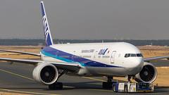 Boeing 777-381(ER) JA786A All Nippon Airways (William Musculus) Tags: fra eddf fraport frankfurt frankfurtmain am main airport spotting ja786a all nippon airways boeing 777381er 777300er nh ana