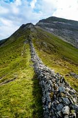 Looking up to Hopegill Head (Robert J Heath) Tags: uk england lakedistrict nationalpark mountain hill fell arete ridge rocky lakeland cumbria