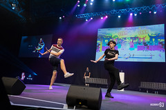Just Dance Championship 2018 (IGFestUK) Tags: copyright2018ieventmedia creditkatyeyreieventmedia day4monday days insomniagamingfestival insomnia63 mainstage nec iseries i63 birmingham uk justdancechampionship2018
